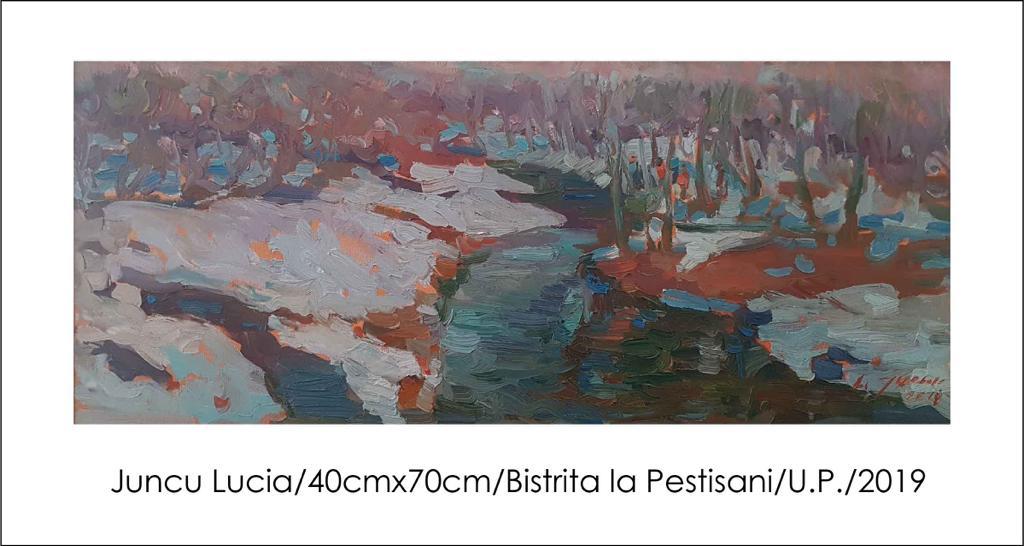 """Expoziţia colectivă de artă plastică """"Pe urmele lui Brâncuşi"""""""