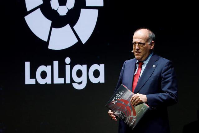 Președintele La Liga face presiuni pentru reluarea fotbalului! În Spania e mai riscant să mergi la farmacie decât la antrenament
