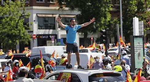 Proteste în Spania împotriva gestionării defectuoase a crizei COVID-19