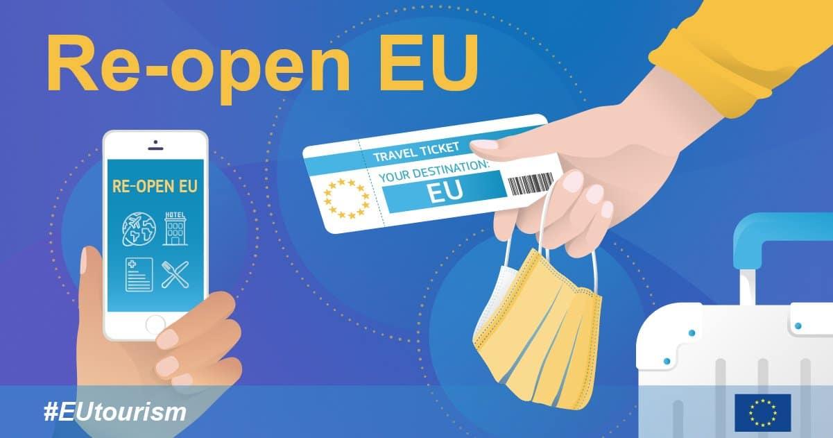 """Comisia Europeană a lansat un site dedicat reluării în siguranță a călătoriilor și a turismului în UE. """"Re-open EU"""""""