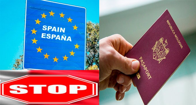 Condițiile de călătorie a cetățenilor modoveni în Spania!