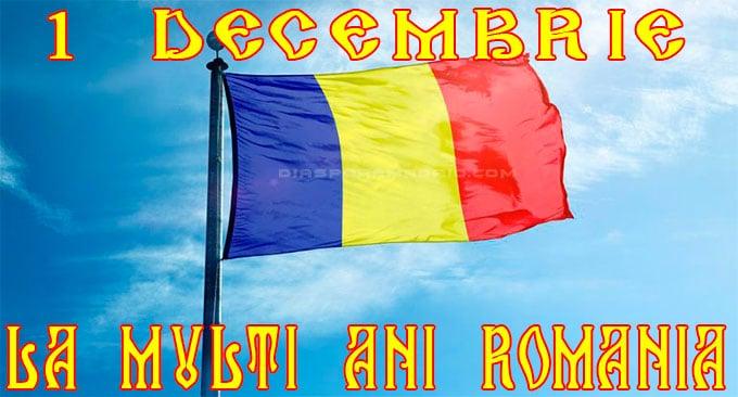 1 Decembrie Ziua Naţională a României, sărbătorită în Spania prin numeroase evenimente