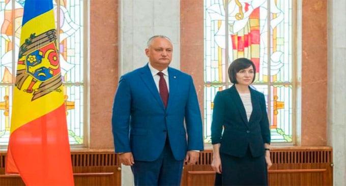 Maia Sandu şi Igor Dodon se vor întâlni în turul doi, pe 15 noiembrie, în alegerile prezidenţiale din Republica Moldova