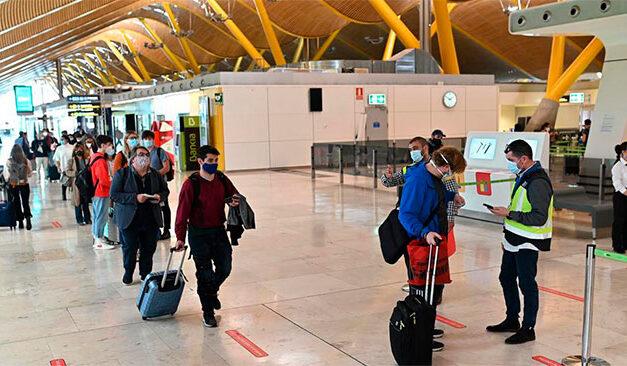 Spania impune obligația prezentării unui test PCR pentru Covid călătorilor internaționali
