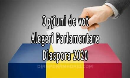 Ce opțiuni de vot au alegătorii care se vor prezenta la urne pe data de 5-6 decembrie în diaspora
