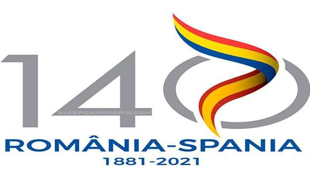 """Prezentat logo-ul aniversar câștigător al concursului de creație """"140 ani de relații diplomatice România-Spania"""""""