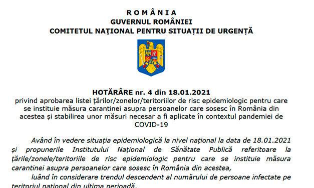 Românii care revin în țară pentru evenimente tip naștere, căsătorie, deces și tratament medical ar putea primi o excepție de carantinare