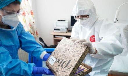 Vaccinul anti COVID-19 distribuit în cutii de pizza la Slobozia