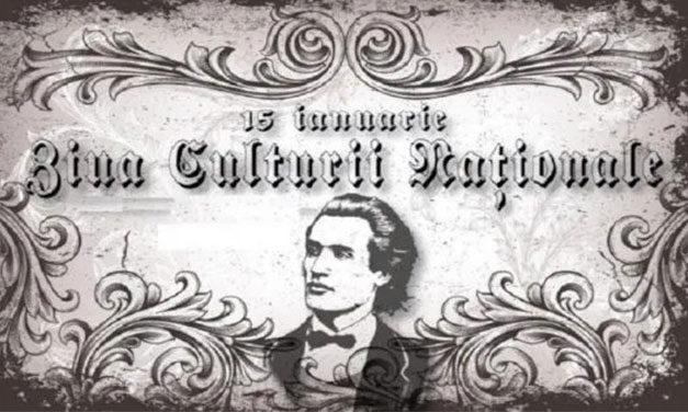 Ziua Culturii Naționale – 171 de ani de la naşterea lui Mihai Eminescu