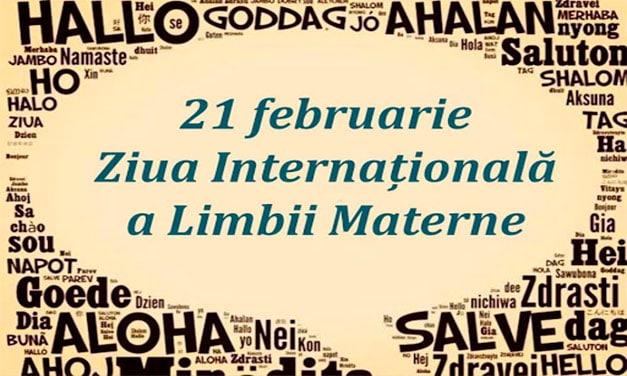 Ziua internaţională a limbii materne, 21 februarie – ICR Madrid