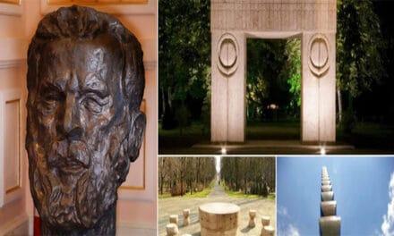 Constantin Brâncuşi abandonat la Târgu Jiu. La Craiova bustul lui, donat Muzeului de Artă