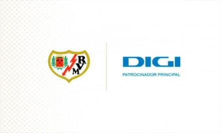 DIGI este noul sponsor principal al echipei de fotbal Rayo Vallecano