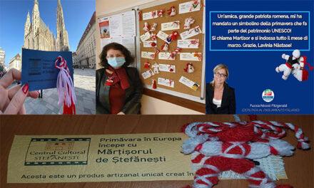 Mărțișorul de Ștefănești face înconjurul Europei!