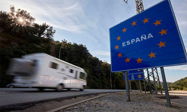 Spania impune obligația testului PCR negativ la frontiera terestră cu Franța pentru toți călătorii