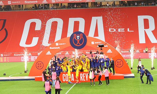 Barcelona a câștigat Cupa Spaniei! Echipa lui Ronald Koeman a învins-o cu 4-0 pe Athletic Bilbao