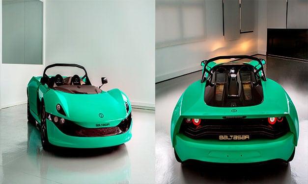 Baltasar Revolt este o maşină electrică stradală şi de circuit Made in Spain