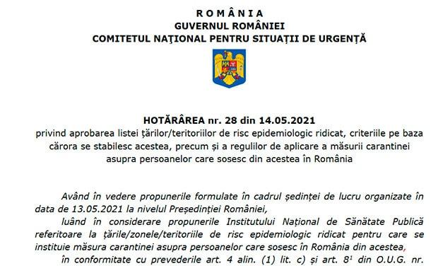 Testul PCR negativ nu mai scutește de carantină! Spania în continuare pe listă!