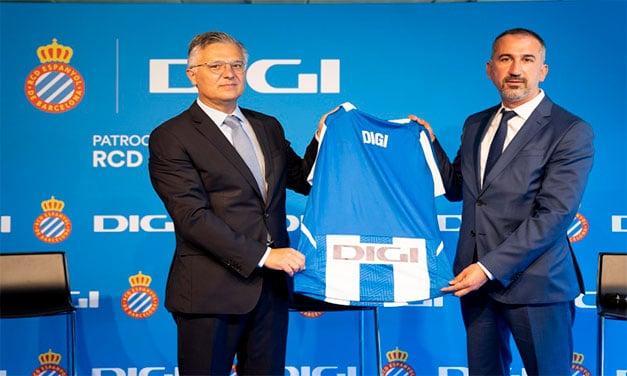 Grupul DIGI este noul sponsor al clubului RCD Espanyol