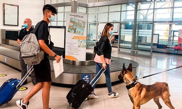 22 de pasageri ai cursei aeriene Madrid-Sibiu, plasați în carantină
