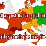 Din 30 august Bucureștiul intră pe lista țărilor/zonelor de risc din Spania