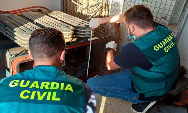 Patru români cercetați pentru furt de cupru în Alcasser (Valencia)