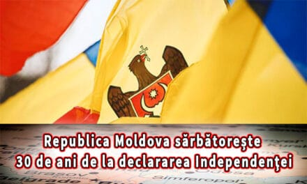 Republica Moldova sărbătorește 30 de ani de la declararea Independenţei