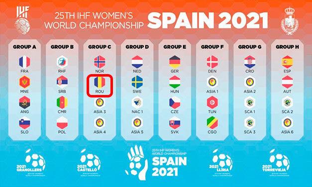 România în grupă cu Norvegia şi două echipe asiatice la Mondialul din Spania
