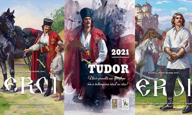 Caiete ilustrate cu momente esențiale din viața lui Tudor Vladimirescu