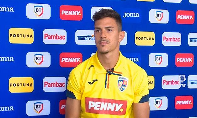 Născut și crescut în Spania, Alexandru Țîrlea a fost convocat în premieră de Florin Bratu la echipa U21(interviu).