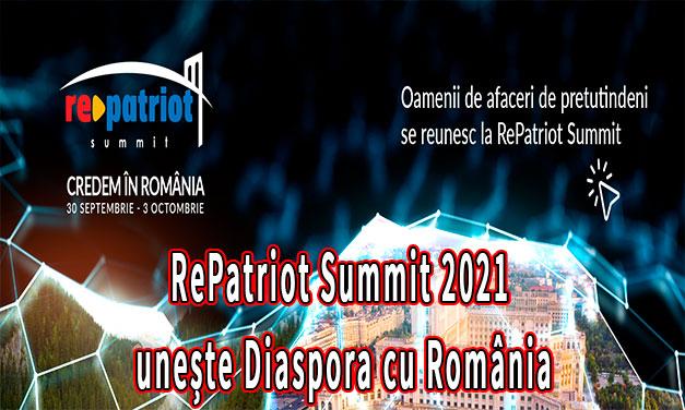 RePatriot Summit 2021 unește Diaspora cu România – Diaspora Madrid